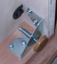 A tight corner to put four screws in